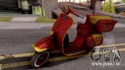 Vespa N 50 pour GTA San Andreas