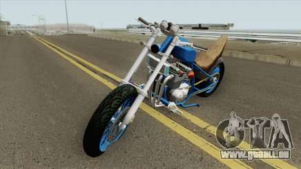 Prodigy (Kawasaki Z400 FX) für GTA San Andreas