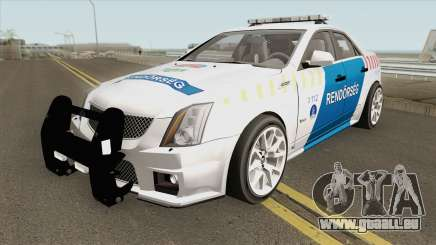 Cadillac CTS Magyar Rendorseg pour GTA San Andreas