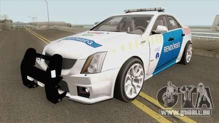 Cadillac CTS Magyar Rendorseg für GTA San Andreas