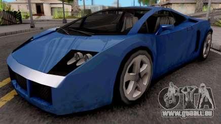 Veloce (Vacca) für GTA San Andreas