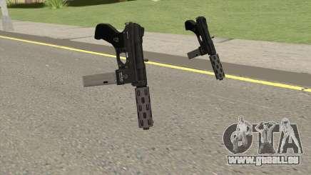 Vom Feuer Machine Pistol GTA V (Long Mag) für GTA San Andreas