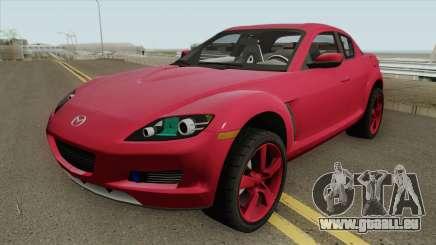 Mazda RX8 HQ pour GTA San Andreas