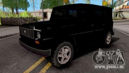 Benefactor Dubsta Black pour GTA San Andreas