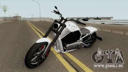 Western Motorcycle Nightblade GTA V (Custom) pour GTA San Andreas