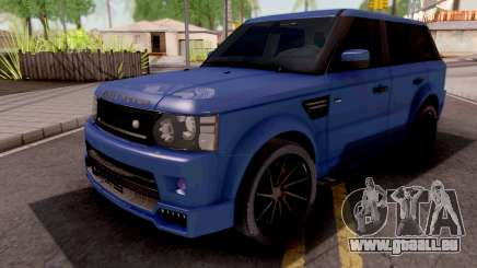 Land Rover Range Rover Sport Blue pour GTA San Andreas