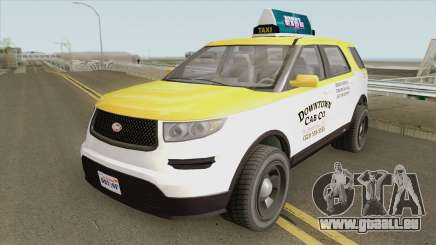 Vapid Scout Taxi V3 GTA V für GTA San Andreas