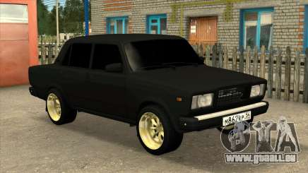 VAZ 2107 BLACK JACK pour GTA San Andreas