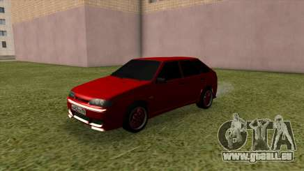 VAZ 2114 Tuning Rouge pour GTA San Andreas