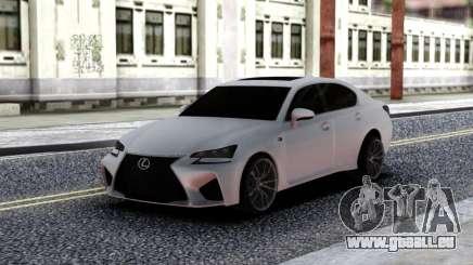 Lexus GS-F pour GTA San Andreas