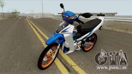Yamaha 125z Full STD v2 für GTA San Andreas