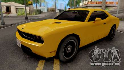 Dodge Challenger SRT8 Yellow pour GTA San Andreas
