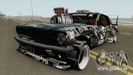 Ford Mustang 1965 Ken Block HQ pour GTA San Andreas