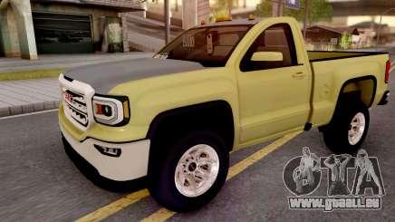 GMC Sierra 2018 pour GTA San Andreas