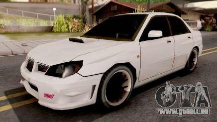 Subaru Impreza WRX STI 2007 SA Style pour GTA San Andreas