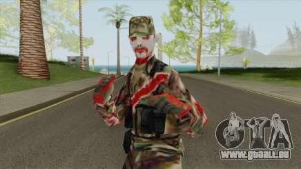 Soldado Zombie pour GTA San Andreas