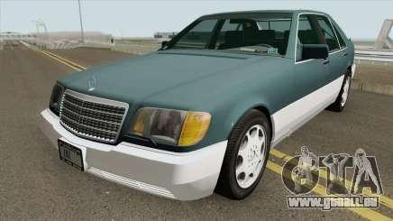 Mercedes-Benz S-Class W140 (US-Spec) pour GTA San Andreas
