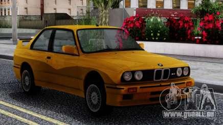 BMW M3 E30 Sport Evolution 1986 pour GTA San Andreas
