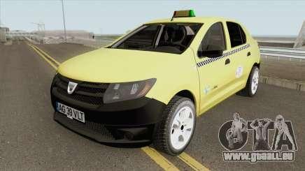 Dacia Logan 2 - Taxi Valentin 2016 pour GTA San Andreas