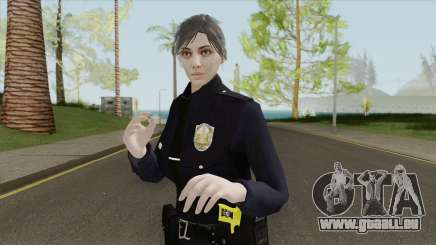 GTA Online Random Skin 17 Female LSPD Officer pour GTA San Andreas