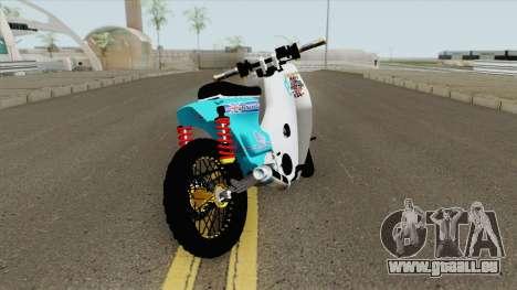 Honda C70 StreetCub pour GTA San Andreas