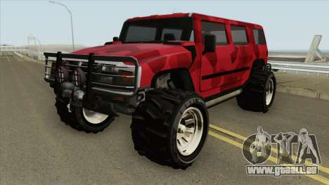 Patriot Army GTA V pour GTA San Andreas