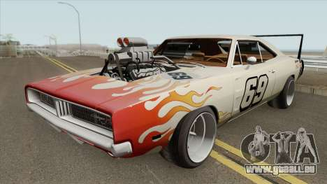 Dodge Charger 69 RT By Donz 1969 pour GTA San Andreas