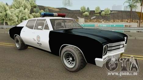 Declasse Tulip Police Cruiser GTA V pour GTA San Andreas