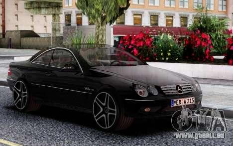 Mercedes-Benz CL 65 AMG W215 für GTA San Andreas