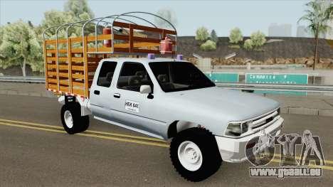 Toyota Hilux Con Estacas pour GTA San Andreas