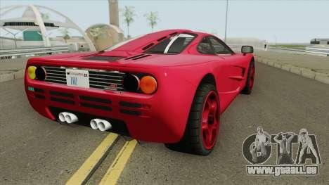 Mclaren F1 pour GTA San Andreas