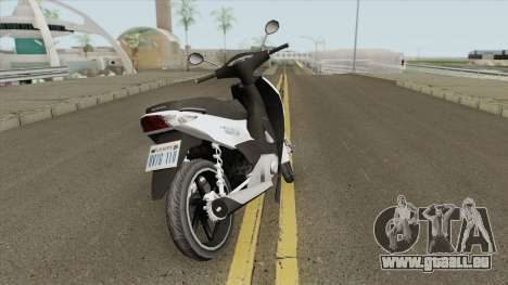 Honda Biz 125CC - Reduzida pour GTA San Andreas