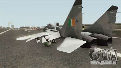 MiG-29 Indian Air Force pour GTA San Andreas