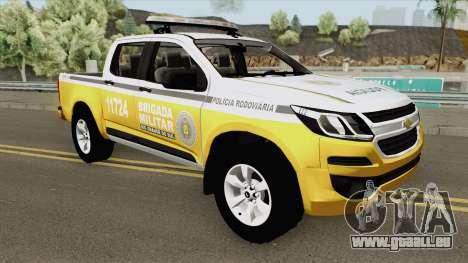 Chevrolet S10 (Brazilian Police) pour GTA San Andreas