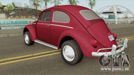 Volkswagen Fusca 1300CC 1964 V2 pour GTA San Andreas