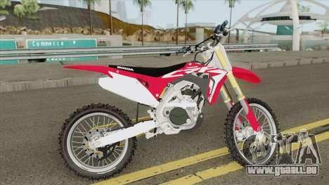 Honda CRF450R 2019 pour GTA San Andreas