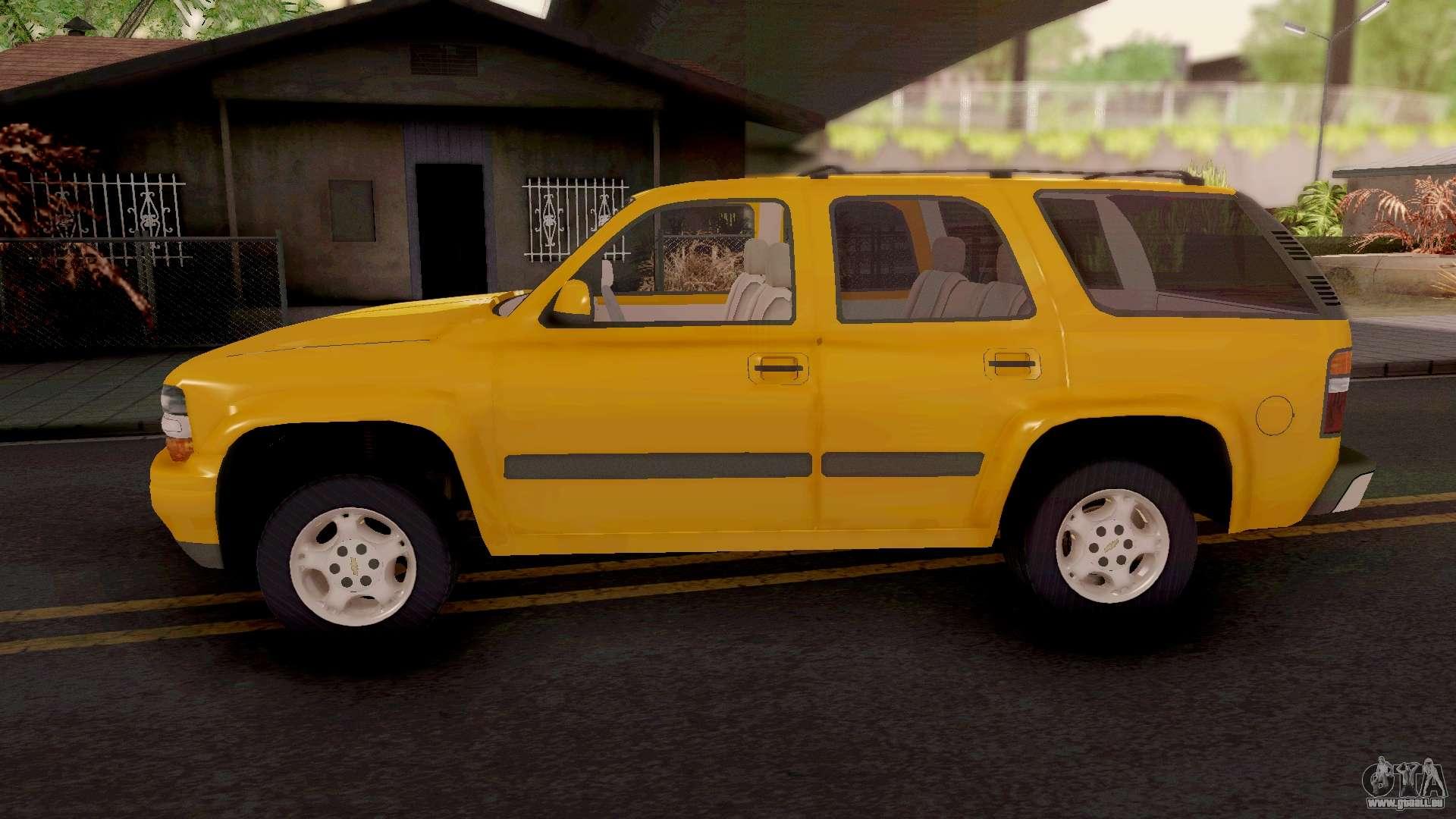 Chevrolet Tahoe 2000 Für Gta San Andreas