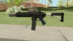 Carbine Rifle GTA V V3 (Silenced, Tactical) pour GTA San Andreas