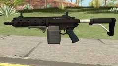 Carbine Rifle GTA V Box (Flashlight, Grip) für GTA San Andreas