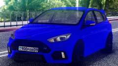 Ford Focus RS 2017 Hatchback pour GTA San Andreas