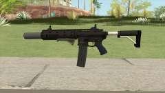Carbine Rifle GTA V Extended (Grip, Silenced) pour GTA San Andreas