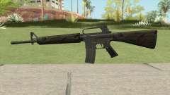 M16A2 Partial Jungle Camo (Stock Mag)