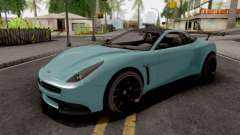 Dewbauchee Massacro Racecar GTA 5 pour GTA San Andreas
