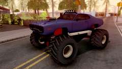Plymouth GTX Monster Truck 1972 pour GTA San Andreas