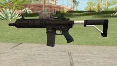 Carbine Rifle GTA V V2 (Flashlight, Tactical) für GTA San Andreas