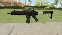 Carbine Rifle GTA V Tactical (Default Clip) für GTA San Andreas