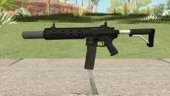 Carbine Rifle GTA V V3 (Silenced, Flashlight)