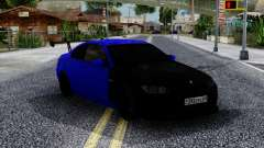 BMW M3 E92 Black & Blue für GTA San Andreas