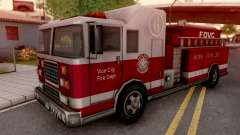 Firetruck from GTA VC pour GTA San Andreas