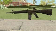 M16A2 Full Jungle Camo (Stock Mag) pour GTA San Andreas